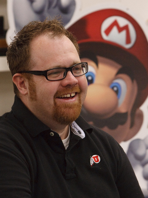 Leah Hogsten  |  The Salt Lake Tribune Roger Altizer is director of game design and production at the U.