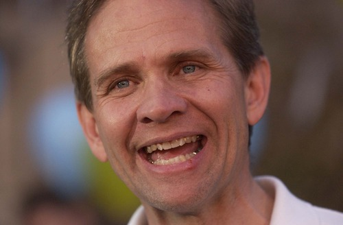 Trent Nelson  |  The Salt Lake Tribune  Ed Smart, Elizabeth's father, spoke with reporters outside of his house after she was found on March 12, 2003. He thanked the media and volunteers, said Elizabeth looked healthy, and made an emotional demand for the passing of the Amber Alert.