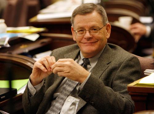 Senate Majority Leader Scott Jenkins, R-Plain City. Tribune file photo.