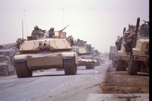 Fox Company 2nd Battalion 23rd Marines in Al Garaff, Iraq.