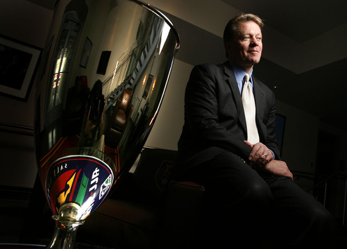 Leah Hogsten  |  The Salt Lake Tribune Dave Checketts earlier this year sold his interest in RSL to real estate investor Dell Loy Hansen.