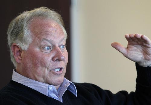 Al Hartmann  |  The Salt Lake Tribune Utah real estate mogul Dell Loy Hansen took over majority control of Real Salt Lake.