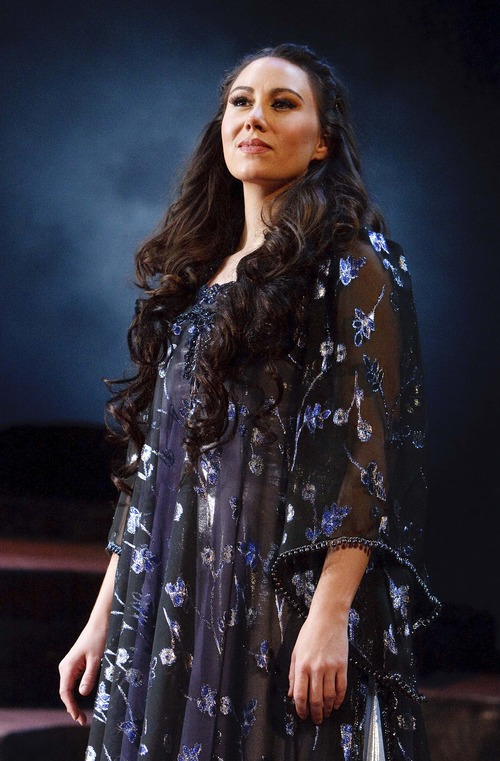 "Leah Hogsten     The Salt Lake Tribune Soprano Anya Matanovic sings the role of Pamina in Utah Opera's production of Mozart's ""The Magic Flute."""