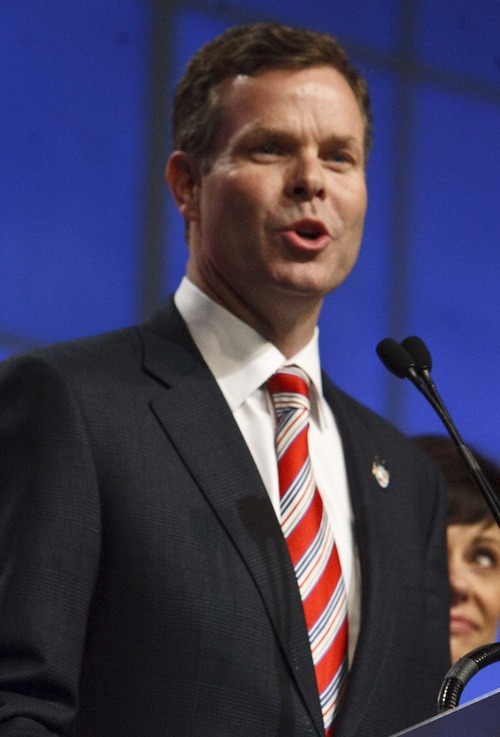 Leah Hogsten  |  Tribune file photo Utah attorney general candidate John Swallow is locked in a tough battle with Sean Reyes. The two are battling for the Republican nomination and the right to face Democrat Dee Smith in November.