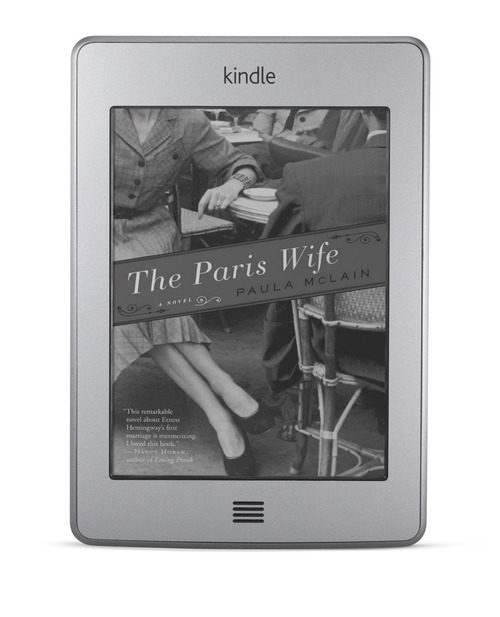 Kindle Touch. Courtesy image