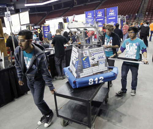Robot Warriors Compete In FIRST Event In Utah