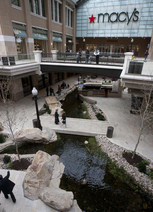 Steve Griffin | The Salt Lake Tribune   City Creek Center in Salt Lake City, Utah Friday March 8, 2013.