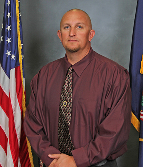 This is a picture of Weber County Sheriff's Sgt. Nate Hutchinson, provided by the The National Law Enforcement Officers Memorial Fund. Hutchinson's been named the fund's Officer of the Month for March 2013. Courtesy image