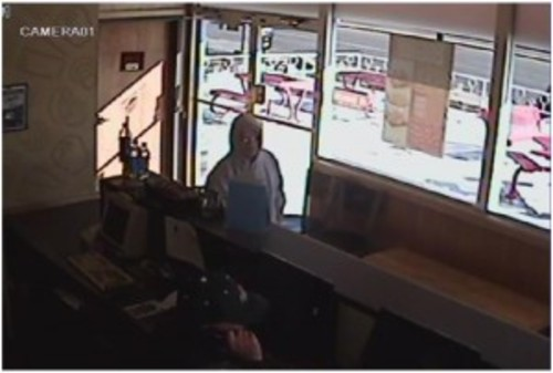 Have you seen this man? He is wanted in the holdup of a Salt Lake City Pizza Hut. (SLCPD photo)