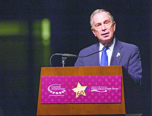 New York Mayor Michael Bloomberg  (AP Photo/Brian Chilson)