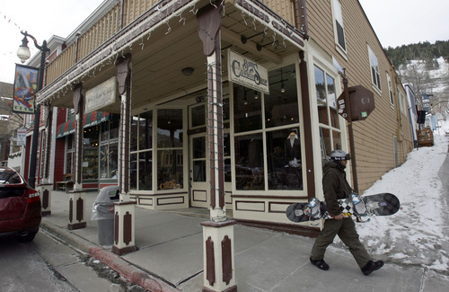 Francisco Kjolseth  |  The Salt Lake Tribune Burns Saddlery, a seven-generation, family-owned business spanning nearly 140 years based in Salina, has opened exclusive Cowboy Shops in Park City, pictured,  and Carmel-by-the-Sea, Calif.