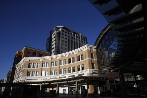 Chris Detrick  |  The Salt Lake Tribune Richards Court at City Creek Center photographed Tuesday March 19, 2013.