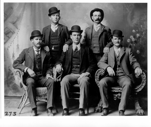 "Courtesy photo A photo from the KUED documentary ""Butch Cassidy and the Outlaw Trail."""