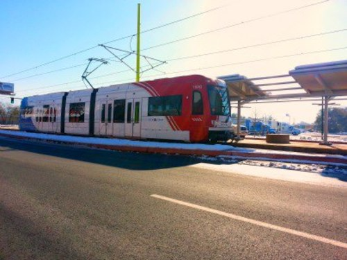 Courtesy image | The $350 million extention of the TRAX line to Salt Lake City International Airport will open April 14.
