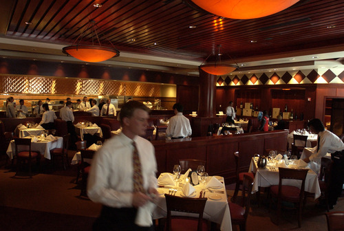 Tribune file photo Fleming's Prime Steakhouse & Wine Bar at The Gateway in Salt Lake City is among the Utah restaurants open on Easter Sunday, March 31.
