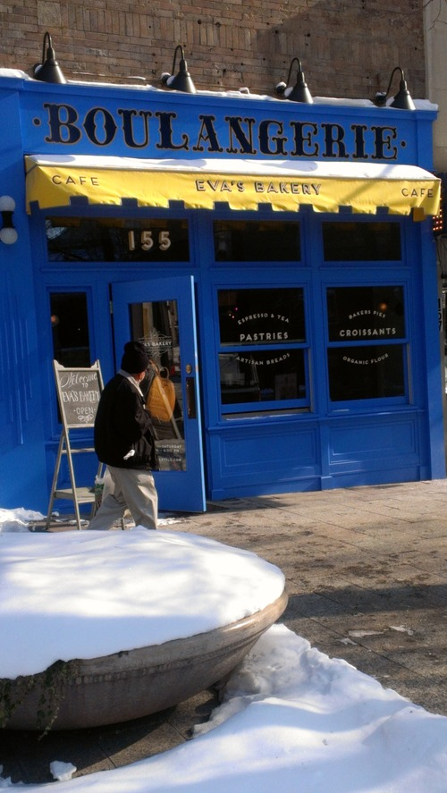 Eva's Bakery and Cafe recently opened at 155 S. Main, in Salt Lake City.