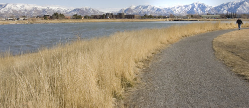 Paul Fraughton |  Tribune file photo The development of trails, such as this one alongside Decker Lake in West Valley City, is a high priority for Salt Lake County residents, according to a new Parks and Recreation Division survey.