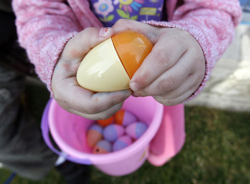 Tribune file photo Easter egg hunts and spring events are being offered throughout Utah.