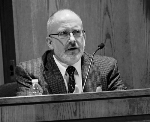 Al Hartmann  |  The Salt Lake Tribune Dr. Edward Leis, Deputy Chief Medical Examiner for Utah tesitifies at Nathan Sloop's preliminary trial at 2nd Distirct Court in Farmington Friday March 29.  Sloop is charged with the May 2010 death of his stepson, 4-year-old Ethan Stacy.