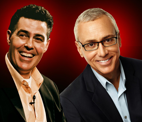Adam Carolla and Dr. Drew visit Salt Lake City on Saturday, March 30, 2013. The duo co-hosted Loveline from 1995 to 2005, providing a decade of hilarious love advice to listeners across the country. Fans and newcomers alike will enjoy the great stories and antics of Loveline and have the opportunity to participate in a live audience interaction with Carolla and Dr. Drew. Call 801-581-7100 for information or visit kingsburyhall.utah.edu. Courtesy photo