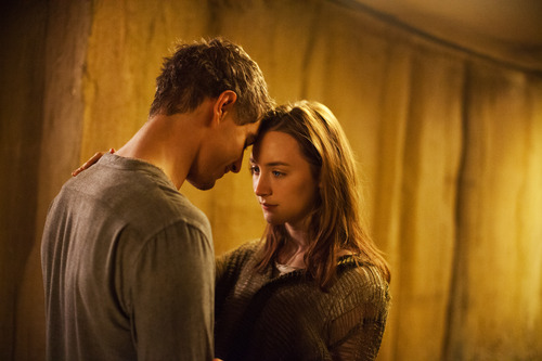 "Courtesy photo Max Irons and Saoirse Ronan in a scene from ""The Host."" Review on EX."
