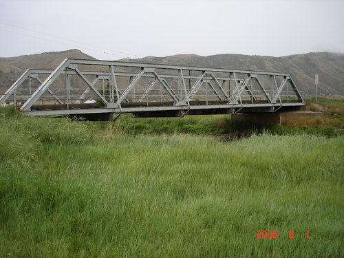 This bridge, built in 1917 six miles southeast of Randolph, was designed by James J. Burke, Utah's most prolific early bridge builder. (Courtesy UDOT)