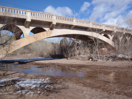 The Ash Creek Bridge in Washington Countyy is an uncommon Utah bridge. It was constructed in 1925. (Courtesy UDOT)
