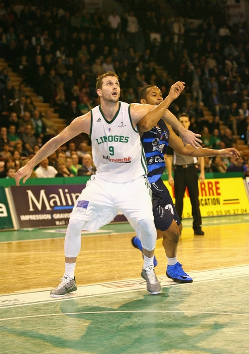 Former BYU Cougar Trent Plaisted has played for seven European teams in six different countries as a professional. Courtesy photo by: Olivier Sarre