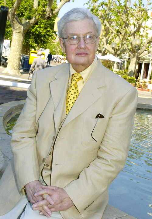 FILE - This May 17, 2004 file photo shows Pulitzer Prize winning film critc Roger Ebert at the 57th International Film Festival in Cannes, southern France. The Chicago Sun-Times is reporting that its film critic Roger Ebert died on Thursday, April 4, 2013. He was 70. (AP Photo/Michel Euler, file)