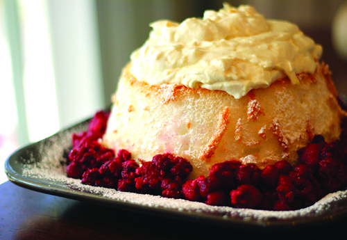 "Courtesy photo Angel food cake and pineapple whip from the cookbook ""Favorite Family Recipes."""