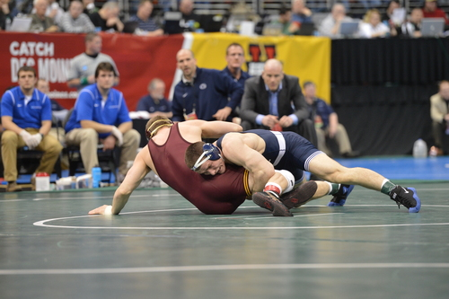 Mark Selders | Penn State Athletics Matt Brown, a Cyprues High grad, finished second at the NCAA national championships.