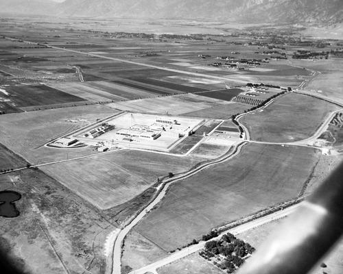 Tribune file photo  Aerial photo of the Utah State Prison in Draper. Date unknown.