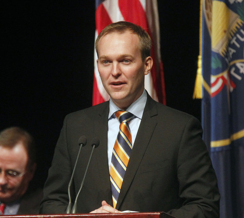 Al Hartmann  |  Tribune file photo Ben McAdams said Wednesday he wants to protect Salt Lake County taxpayers' interests in discussions about moving the state prison from Draper.