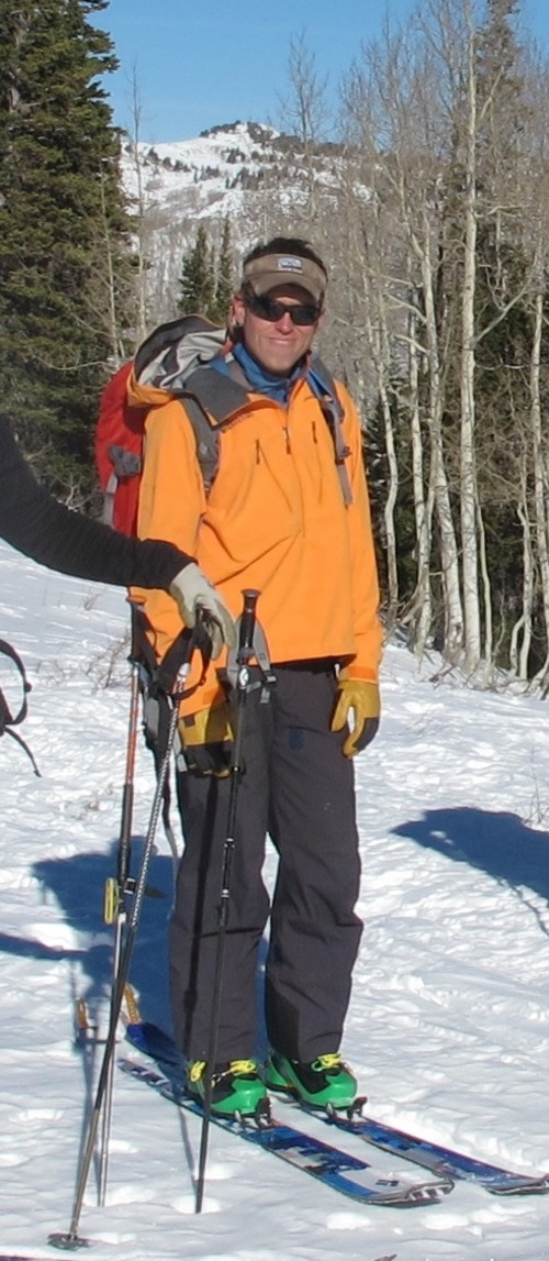 Courtesy Utah Mountain Adventures Craig Patterson, an avalanche forecaster for the Utah Department of Transportation, died Thursday in a slide beneath Kessler Peak off of Big Cottonwood Canyon.