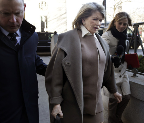(AP Photo/Seth Wenig) Martha Stewart is at the center of a legal battle pitting J.C. Penney against Macy's over the sales of her retail goods.