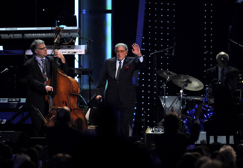 Tony Bennett Performs At The Musicares Person Of The Year