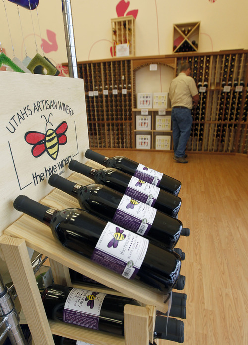 The Hive Winery in Layton makes 30 kinds of wine.   The Hive Winery is one of six Utah wineries which are facing hurdles put up by state lawmakers that make it difficult for them to do business.