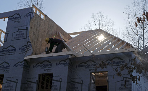 Chuck Burton  |  The Associated Press The jump in home building is expected to contribute to economic growth in 2013 for a second straight year    I