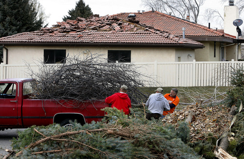 Scott Sommerdorf     The Salt Lake Tribune              Experts advise that you inventory your home, making sure that  valuables are properly insured in the event of an earthquake, flood or wind storm, such as the one that hit the Wasatch Front 16 months ago.