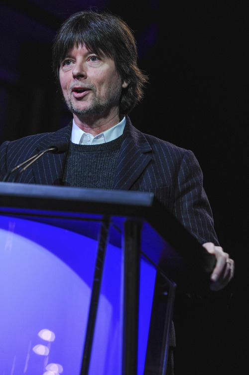 Filmmaker Ken Burns. Courtesy of Rahoul Ghose