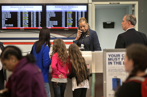 (AP Photo/David Goldman) On Tuesday, thousands of American flights were either canceled or delayed by a computer malfunction.