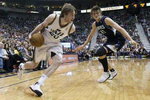 Chris Detrick     The Salt Lake Tribune Gordon Hayward and the Jazz are in agreement: it's time for him to step up and take a leadership role on the team going forward.