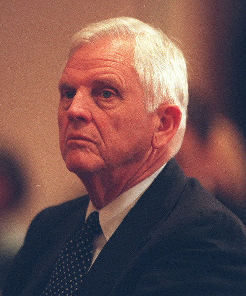 Steve Griffin | Tribune file photo Earl Holding, former Salt Lake Organizing Committee trustee.