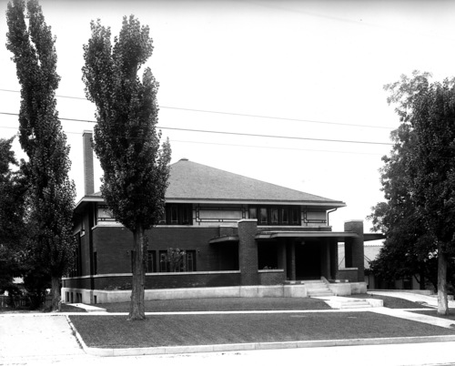 The Ladies Literary Club building shown on Aug. 8, 1913. Courtesy Utah State Historical Society