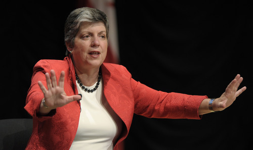 AP File Photo Homeland Security Secretary Janet Napolitano says there is a need for greater technology on the border, though she says it is now as secure as it's ever been. She says a fence makes sense on only about one third of the 2,000-mile border between the United States and Mexico.