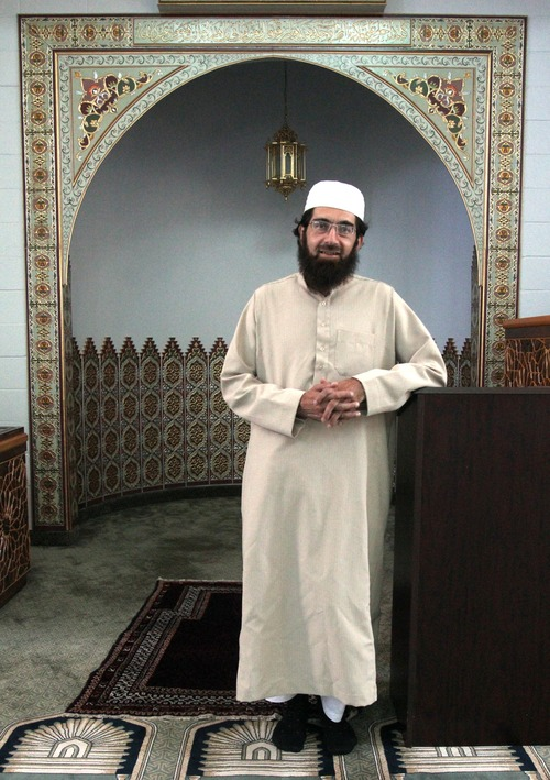 Rick Egan  | The Salt Lake Tribune   Imam Muhammed Mehtar, at the Khadeeja Islamic Center in West Valley City in 2012, says he would not hesitate to inform government officials about a Muslim who was making threats against the U.S.