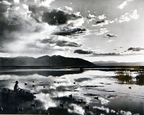 (Utah State Historical Society)  Scenic photo, location unknown.