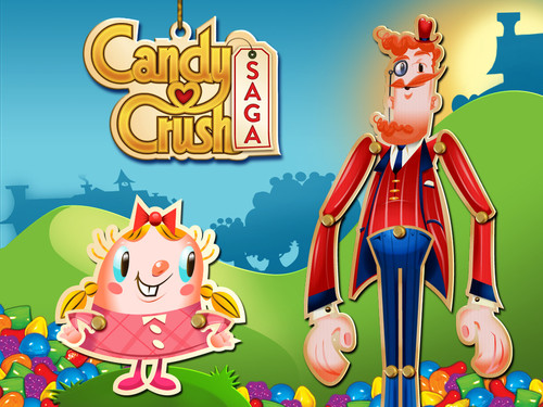 """Screenshot from the mobile game, """"Candy Crush."""" Courtesy image"""