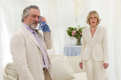 """Courtesy photo """"The Big Wedding"""" • Don (Robert De Niro) and Ellie (Diane Keaton) are a divorced couple who must pretend they're still married for their son's wedding in this comedy."""