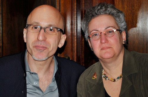 "ADVANCE FOR USE SUNDAY, APRIL 28, 2013 AND THEREAFTER - This February 2010 photo provided by the family shows siblings Benjamin and Nancy Dreyer in New York. Nancy, a lesbian, says she has noticed the different ways society treats gay men and lesbians, partly because Benjamin is gay. The two say it's difficult to compare their experiences because he came out in college, and she in her early 30s. So he was the first to tell their parents. ""They yelled at me. They took you to dinner,"" Benjamin Dreyer, who's 54 and works in publishing in New York City, now jokes with his sister. (AP Photo/Nancy Dreyer)"